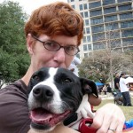 Clint and Callie at Pit Bull Awareness Day